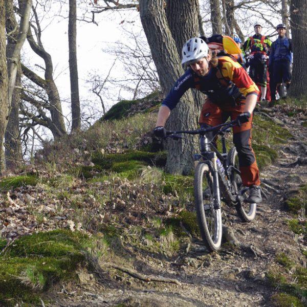 Bergsiches Land, Leichlingen Solingen, Bergisch Gladbach - Mountainbike Fahrtechnikkurse