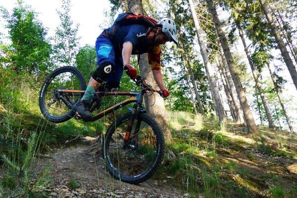 Hinterrad versetzen lernen - MTB Fahrtechnik Workshop Köln Bonn NRW Mountainbike Tricks