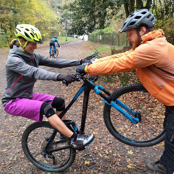 Fortgeschrittene MTB Training. Fit für Flowtrail und Bikepark