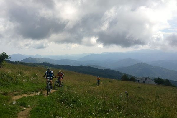 Mountainbike Reise Slowenien Mtb tour socatal bovec kobarid transalp alpenüberquerung trailacademy